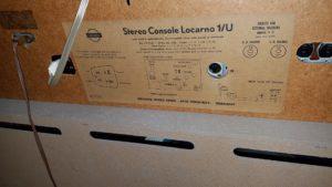 Locarno 1/U label